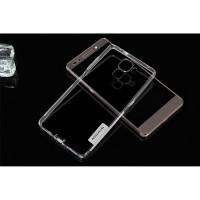 Силиконовый матовый полупрозрачный чехол повышенной ударостойкости для Huawei Honor 7 Белый