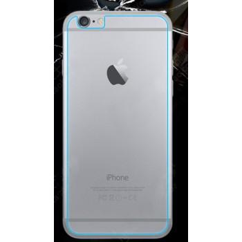 Ультратонкое износоустойчивое сколостойкое олеофобное защитное стекло-пленка на заднюю поверхность смартфона для Iphone 6/6s