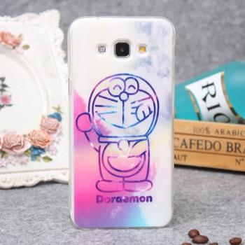 Силиконовый дизайнерский чехол с принтом для Samsung Galaxy A8
