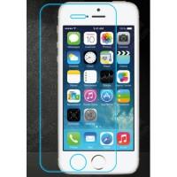 Ультратонкое износоустойчивое сколостойкое олеофобное защитное стекло-пленка для Iphone 5s/SE