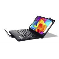 Кожаный чехол подставка с Bluetooth клавиатурой (English version) для Samsung Galaxy Tab S 8.4