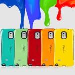 Силиконовый антиударный эргономичный чехол для Samsung Galaxy Note 4