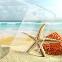 Пластиковый транспарентный чехол для Samsung Galaxy A8