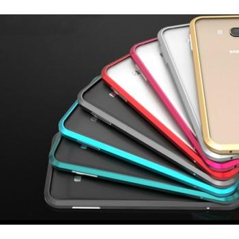 Металлический утратонкий ультралегкий бампер для Samsung Galaxy A8