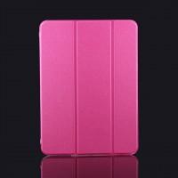 Сегментарный чехол-подставка с прозрачный основанием для Samsung Galaxy Tab 4 10.1 Пурпурный