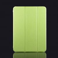 Сегментарный чехол-подставка с прозрачный основанием для Samsung Galaxy Tab 4 10.1 Зеленый