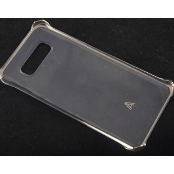Пластиковый транспарентный чехол с угловыми креплениями для Samsung Galaxy A8
