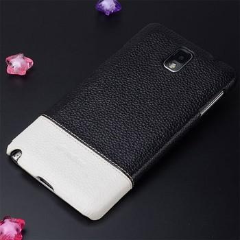 Кожаный чехол накладка двухцветная для Samsung Galaxy Note 3