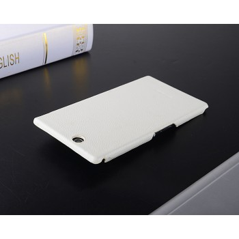 Кожаный чехол накладка Back Cover для Sony Xperia Z Ultra