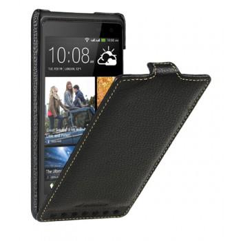 Кожаный чехол вертикальная книжка с защёлкой для HTC Desire 600