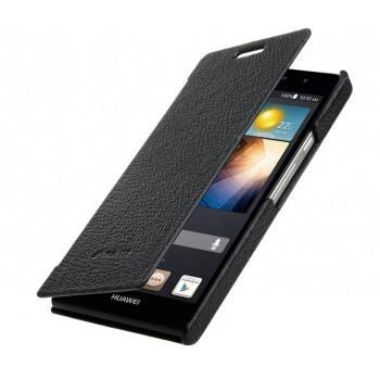 Кожаный чехол горизонтальная книжка для Huawei Ascend P6