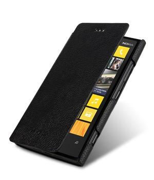 Кожаный чехол горизонтальная книжка для Nokia Lumia 920