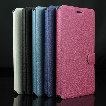Текстурный чехол горизонтальная книжка подставка на пластиковой основе с магнитной застёжкой для MTS Smart Start