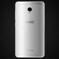 Силиконовый транспарентный чехол для Lenovo Vibe P1