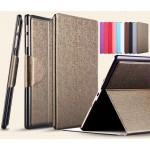 Чехол подставка на пластиковой основе со слотом для карт и застежкой текстурный Silk для Samsung Galaxy Tab S 10.5