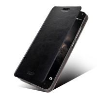 Чехол флип подставка водоотталкивающий для Lenovo Vibe P1 Черный