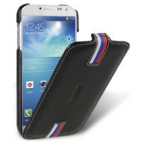 Кожаный чехол вертикальная книжка Tricolor для Samsung Galaxy S4