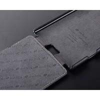 Кожаный чехол вертикальная книжка с защёлкой для Nokia Lumia 1520 Черный