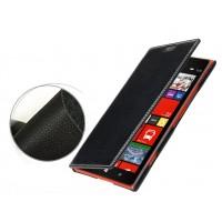 Кожаный чехол горизонтальная книжка с отделением для карт для Nokia Lumia 1520 Черный