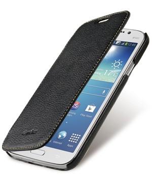 Кожаный чехол горизонтальная книжка с отделением для карт для Samsung Galaxy Mega 5.8