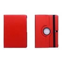 Чехол подставка роторный для Samsung Galaxy Tab S 10.5 Красный
