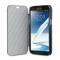 Кожаный чехол горизонтальная книжка для Samsung Galaxy Note 2