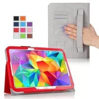 Чехол подставка с внутренними отсеками серия Full Cover для Samsung Galaxy Tab S 10.5 Красный