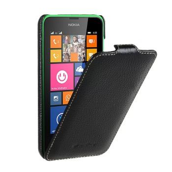 Кожаный чехол книжка для Nokia Lumia 630