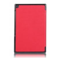 Сегментарный чехол с черной окантовкой для планшета Sony Xperia Z2 Tablet Красный