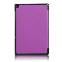 Сегментарный чехол с черной окантовкой для планшета Sony Xperia Z2 Tablet Фиолетовый