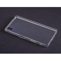 Силиконовый транспарентный чехол для Sony Xperia Z5