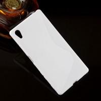 Силиконовый S чехол для Sony Xperia Z5 Белый