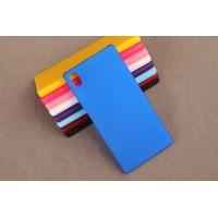 Пластиковый матовый непрозрачный чехол для Sony Xperia Z5