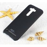 Пластиковый матовый чехол с повышенной шероховатостью для ASUS Zenfone 2 Laser 5.5 ZE550KL Черный