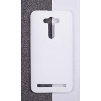 Пластиковый матовый непрозрачный чехол для ASUS Zenfone 2 Laser 5.5 ZE550KL Белый