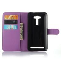 Чехол портмоне подставка с защелкой для ASUS Zenfone 2 Laser 5 ZE500KL Фиолетовый