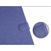 Текстурный чехол флип подставка с застежкой и отделением для карт для ASUS Zenfone 2 Laser 5 ZE500KL Синий