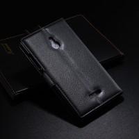 Чехол портмоне подставка с защелкой для Nokia XL Черный