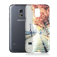 Пластиковый матовый дизайнерский чехол с УФ-принтом для Samsung Galaxy S5 Mini
