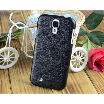 Кожаный чехол накладка Back Cover для Samsung Galaxy S4