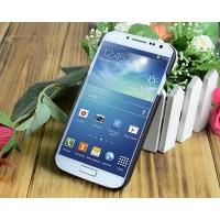 Кожаный чехол накладка Back Cover для Samsung Galaxy S4 Черный