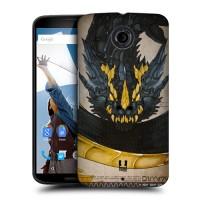 Пластиковый матовый дизайнерский чехол с эксклюзивной серией принтов для Google Nexus 6 (изготовление на заказ)