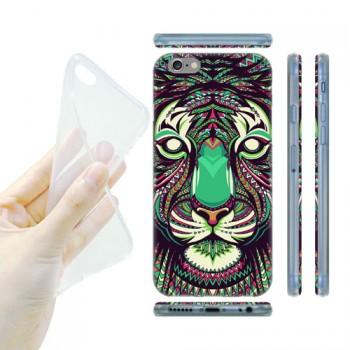 Силиконовый матовый дизайнерский чехол с эксклюзивной серией принтов для Iphone 6/6s (изготовление на заказ)