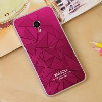 Дизайнерский узорный чехол для Meizu MX3 Пурпурный