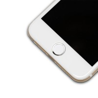 Защитная наклейка с металлическим кольцом для сенсора отпечатка пальцев для Iphone 6/6s/6 Plus/6s Plus/5s/SE для HTC One (M7) Dual SIM (802w)