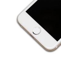 Защитная наклейка с металлическим кольцом для сенсора отпечатка пальцев для Iphone 6/6s/6 Plus/6s Plus/5s/SE для Huawei Honor 7 (Premium, PLK-CL00, PLK-UL00, PLK-AL10, PLK-TL01H, PLK-L01)