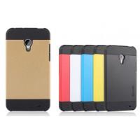 Двуцветный премиум силикон-пластик чехол для Meizu MX3