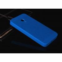 Силиконовый дизайнерский фигурный чехол для Meizu MX3 Синий