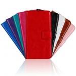 Чехол портмоне подставка с защелкой для LG Leon