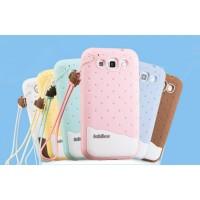 Силиконовый матовый фигурный чехол для Samsung Galaxy Win